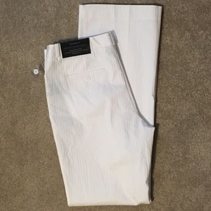 NWT Worthington White Trouser Leg Pants Size 8
